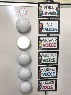 Here is a great visual to help students understand the expectations for voice volume.