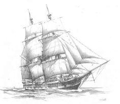 WetCanvas: ArtsSchool Online: Drawing: Drawing Ships: L3