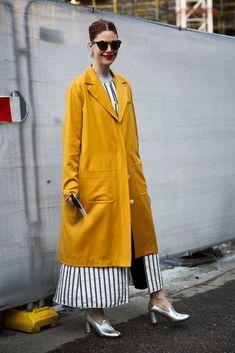 London Fashion Week Autumn Winter 2016 Street Style | POPSUGAR Fashion UK