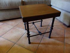 Tavolino in ferro battuto a mano ,
