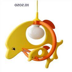 Otroško svetilo Delfin
