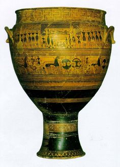 Dipylon Vase, Greece, c. 750 BCE