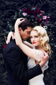 Glamorous New Year's Eve wedding inspiration