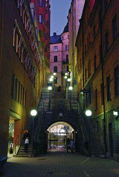 Stockholm, Sweden...around the corner from sturekatten