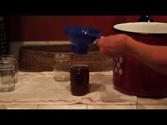 ▶How to make Pepper Jelly - Great way to use your garden peppers, hot and sweet!  Watch out, this recipe is addictive.  A fabulous appetizer with cream cheese and crackers!