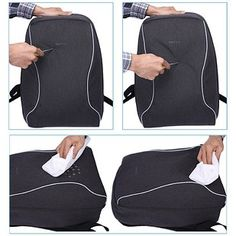 An anti-theft backpack with hidden ninja zippers/pockets that also happens to be slash-proof and water-resistant. | 35 Things That Anyone With Wanderlust Will Love