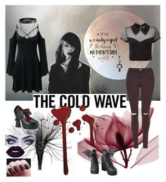 """""""Untitled #302"""" by alymccurdy ❤ liked on Polyvore featuring Iron Fist, Killstar, Topshop, Halftone Bodyworks and Demonia"""