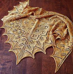 Intermediate (Charted) Lace Knitting Pattern. To learn lace knitting, go to http://knitfreedom.com/classes/lace-knitting. (c) Dee O'Keefe