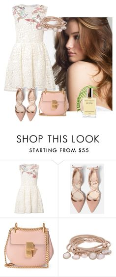 """""""Morning sparkle"""" by sofiacalo ❤ liked on Polyvore featuring RED Valentino, Chloé and Marjana von Berlepsch"""