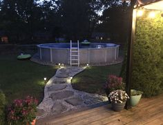 ✔ 59 dreamy ideas for people who have backyard pools 36 - Pool - Piscinas Swimming Pool Landscaping, Swimming Pools Backyard, Backyard Landscaping, Backyard Patio, Landscaping Ideas, Backyard Ideas Pool, Indoor Pools, Above Ground Pool Landscaping, Above Ground Pool Decks