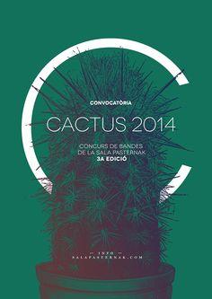 cactus 2014 identity on Behance