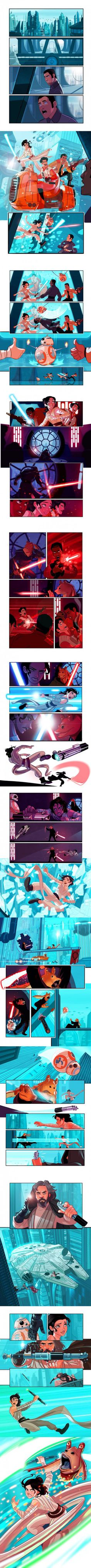 Star Wars Episode 7 1/2 by Stephen Byrne