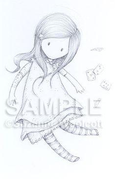 Alice - Original Sketch (SOLD)