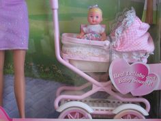 Barbie - Walking Barbie & New Baby Sister krissy Doll - 1999 Mattel, Dolls - Amazon Canada