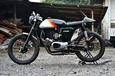 A100 caferacer
