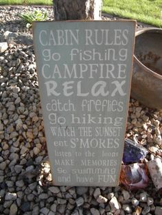 Christmas Valley cabin rules