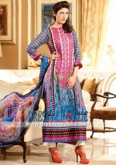 Jubilee Mills Karam Spring Lawn Suits 2014 Vol 2  Jubilee Embroidered Cotton Lawn Fabric in Vancouver and Victoria, British Columbia Canada. Complete Sets at Wholesale Prices Also Available! by www.dressrepublic.com