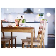 IKEA - JOKKMOKK Table and 4 chairs antique stain