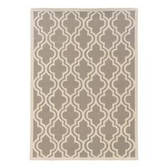 You'll fall in love with the elegant, modern look of the Linon Silhouette Quatrefoil Area Rug . Crafted from wool and made with a hand-hooked. Grey Kitchen Wallpaper, Grey Wallpaper, Diy Furniture Decor, Elements And Principles, Yellow Rug, Quatrefoil, Grey Rugs, Rug Hooking, Rugs In Living Room