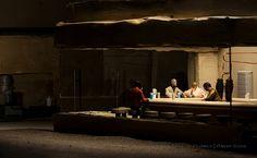 """""""Cantina"""" based upon Edward Hopper's Nighthawks."""