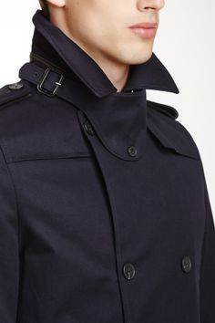 4af1f7e5 Sandro Magnetic Double Breasted Coat on HauteLook Double Breasted Coat,  Fashion Men, Fashion Shoes
