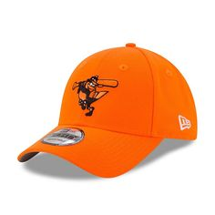 Baltimore Orioles New Era Youth 2017 Players Weekend 9FORTY Adjustable Hat - Orange