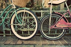 """""""Confession. My dream is to bike alongside my husband under canopy trees on the road up to our house."""" @Taylor Derr"""