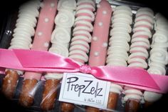 Chocolate Dipped Pretzel Rods | ... Day White Chocolate Covered Pretzel Rods - 8 pack of medium rods