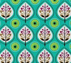 Import - Michael Miller Norwegian Woods Leaves Forest - 110 x 45 cm via Patchwork Paradise - Your Fabric Paradise. Click on the image to see more!