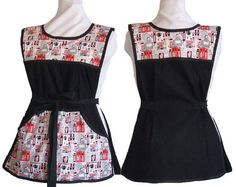 Hey, I found this really awesome Etsy listing at https://www.etsy.com/listing/180308548/cobbler-apron-black-with-red-black-and