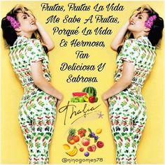 #GoodMorning☀️🌈💖 @thalia 👸🏼👑❤️🌹 🎤Frutas, Frutas La Vida Me Sabe A Frutas, Porqué La Vida Es Hermosa, Tan Deliciosa Y Sabrosa...🍎🍉🍌🍒🍏🍇🍓🍑🍍🎼🎶🎵🎶🎵🎶🎵🎶🎵