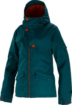 $92- Special Blend Crash Snowboard Jacket Apres Blue - Women's