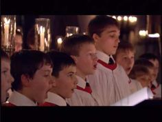 """'The Shepherd's Carol' - sung by King's College Choir, Cambridge -- """"Bob Chilcott's The Shepherd's Carol was composed for the 2000 Festival of Nine Lessons and Carols at King's College, Cambridge. It's a thoroughly modern piece that takes Chilcott's original melody repeating and enhancing it from verse to verse spinning a beautiful web of choral music as it does so."""""""