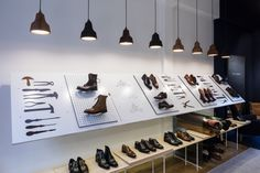 Joseph Cheaney store by Checkland Kindleysides, London – UK » Retail Design Blog