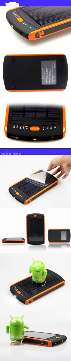 23000 ma new low carbon environmental protection solar large capacity power bank, solar laptop mobile tablet power bank - Ringing Shop
