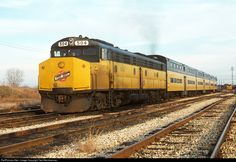 RailPictures.Net Photo: CNW 504 Chicago & North Western Railroad EMD E9BA at Chicago, Illinois by Ted Steinbrenner