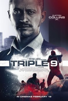 Triple 9 Posters Feature Gal Gadot, Anthony Mackie and Triple 9, Clifton Collins Jr, Gal Gadot, New Movie Posters, Original Movie Posters, Film Posters, Internet Movies, Movies Online, Norman Reedus