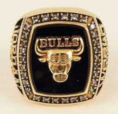 1991 Chicago Bulls Michael Jordan's 1st NBA Championship Ring