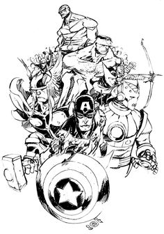 THE AVENGERS by *EricCanete on deviantART