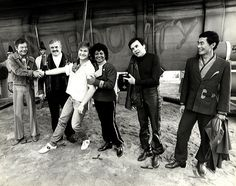 """Behind the scenes of """"Star Trek IV: The Voyage Home"""" (1986) (O'm noticing the lack of Shatner.... XD )"""