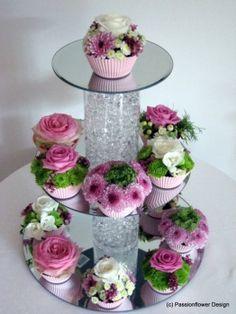 Pink Cupcake Tier