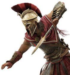 ads ads Alexios in Battle from Assassin's Creed Odyssey ads Greek Warrior, Fantasy Warrior, Tattoo Guerreiro, Gladiator Tattoo, Spartan Tattoo, Roman Warriors, Spartan Warrior, Warrior Tattoos, Assassins Creed Odyssey