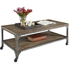 Shop Wayfair For Mercury Row Aquitaine Coffee Table   Great Deals On All