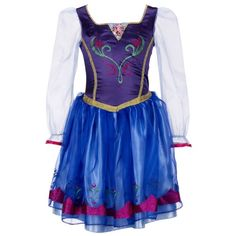 Buy Cheap Halloween Costumes Disney Frozen Enchanting Dress - Anna
