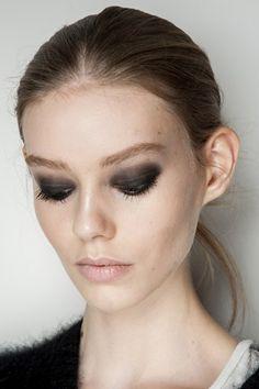 Backstage hair and make-up at New York Fashion Week - Diane von Furstenberg #NYFW