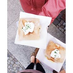 Introducing to my favorite things to do in Berlin. Let's start with a street food market. Street Food Market, Camembert Cheese