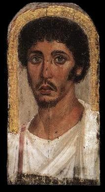 Funeral portrait from Fayum,