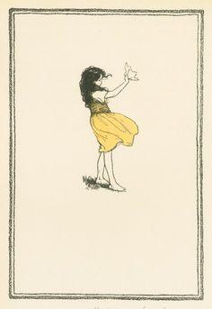 From Heidi, 1922  (Philadelphia David McKay Company) Spyri, Johanna. (1827-1901) - Author.  Smith, Jessie Wilcox. (1863-1935) - Artist.
