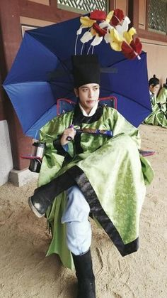 "Jung yong hwa as Park Dalhyang in his new drama ""The Three Musketeers"" 삼총사"