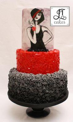 Cabaret Girl - Cake by JT Cakes | CakesDecor.com